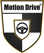 motion drive sports car rental logo