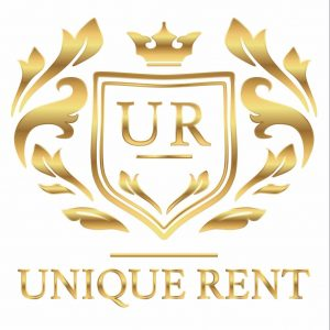 unique rent logo